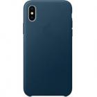 Husa Capac Spate Albastru APPLE iPhone X