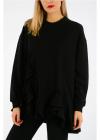 Givenchy Frilled Sweatshirt