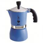 Espressor Pentru Aragaz Bialetti  Capacitate 3 Cupe  Seria Fiammetta  Albastru