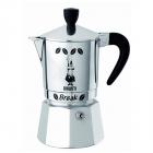 Espressor Pentru Aragaz Bialetti  Capacitate 3 Cupe  Seria Break  Maner Negru