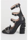 Gucci 10cm Leather Sandals With Details Sandals