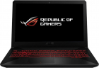 Notebook / Laptop ASUS Gaming 15.6'' TUF FX504GE, FHD, Procesor Intel® Core™ i7-8750H (9M Cache, up to 4.10 GHz), 8GB DDR4, 1TB + 128GB SSD, GeForce GTX 1050 Ti 4GB, FreeDos, Black