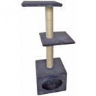 Sisal pentru pisici Munich Grey 35X35X103cm