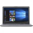 Laptop VivoBook X542UA-DM597R 15.6 inch FHD Intel Core i5-8250U 4GB DDR4 500GB HDD FPR Windows 10 Pro Dark Grey
