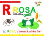 De La Rosa  Broasca   Rosa  O Broasca Printre Flori  cartonat