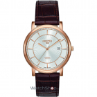 Ceas Mens C line Brown Leather Strap 709856 49 17 07