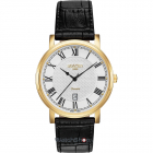 Ceas Mens C line Black Leather Strap 709856 48 22 07