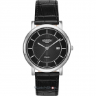 Ceas Mens C line Black Leather Strap 709856 41 57 07