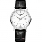 Ceas Mens C line Black Leather Strap 709856 41 25 07