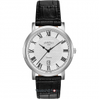Ceas Mens C line Black Leather Strap 709856 41 22 07