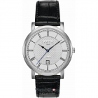 Ceas Mens C line Black Leather Strap 709856 41 12 07