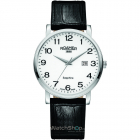 Ceas Mens C line Black Leather Strap 709856 41 26 07