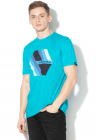 Tricou Regular Fit Cu Imprimeu Logo Retro