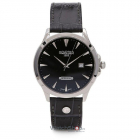 Ceas Windsor Black Leather Strap 705856 41 55 07