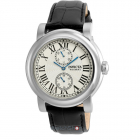 Ceas I force Black Leather Strap 22255