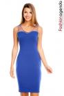 Rochie Cu Perle Thriving Blue