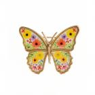 Promotii Brosa Martisor  Fluture Cu Flori Ieftine