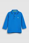 Bluza Polo Din Material Pique   Cu Broderie