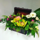 Cufăr Cu Flori Mixte