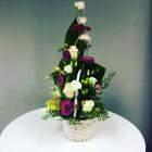 Aranjament Floral în Coș