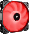 Ventilator   Radiator Corsair Air Series Af140 Led Red  2018  140mm Fan