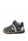 Sandale De Piele   Cu Velcro