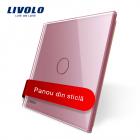 Panou Intrerupator Cu Touch Livolo Din Sticla