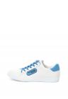 Pantofi Sport De Piele Cu Aplicatie Cauciucata Cu Logo