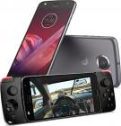 Smartphone Motorola Moto Z2 Play  Ecran Full Hd  Gorilla Glass 3  Snapdragon 2.2 Ghz  Octa Core  64gb  4gb Ram  Dual Sim  4g  Nfc  Turbopower Fast Charge  Baterie 3000 Mah  Lunar Gray + Moto Gamepad Mod Inclus