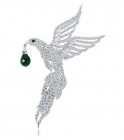 Brosa Eagle Emerald Drop By Borealy