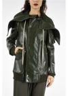 Rick Owens Drkshdw Stretch Cotton Hooded Jacket