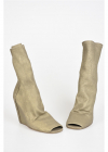 Rick Owens 11 Cm Open Toe Leather Sock Boots