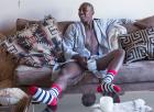 Sosete Happy Socks Rosii Cu Dungi   Happy Socks
