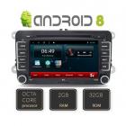 Navigatie Dedicata Pentru Vw  Skoda  Seat  Edotec Edt g305 8core  Sistem De Operare Android  Dvd  Wi fi  Bluetooth  Gps