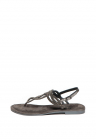 Sandale De Piele Decorate Cu Strasuri