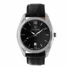 Ceas Election Classic   Black & Silver