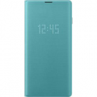 Husa Agenda Led View Cover Verde Samsung Galaxy S10