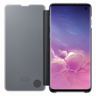 Samsung Husa De Protectie Tip Book Clear View Black Pentru Galaxy S10