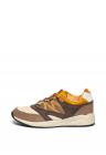 Pantofi Sport De Piele Intoarsa Ecologica Si Material Textil