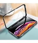 Husa 360 Magnetica Cu Sticla Fata + Spate Pentru Iphone 7+  Iphone 8+