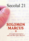 Revista Secolul 21   Solomon Marcus Ii 1 6 2018