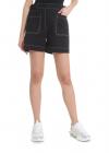 Kenzo Stylized High waisted Shorts