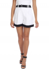 White Tweed Shorts