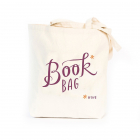 Tote Bag   Book*  wine