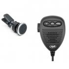 Microfon + Suport Magnetic Easy Drive 12 In Grila De Ventilatie Pentru Statie Radio Pni Escort Hp 80xx