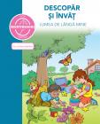 Carte Cu Autocolante   Descopar Si Invat Lumea De Langa Mine  dupa Metoda Montessori
