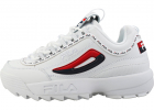 Disruptor 2 Premium Repeat Trainers In White Navy Red