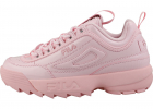 Disruptor 2 Premium Patent Fashion Trainers In Pink