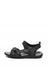 Sandale De Piele Ecologica   Cu Velcro Strada