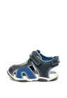 Sandale Din Material Respirabil Cu Garnituri De Piele